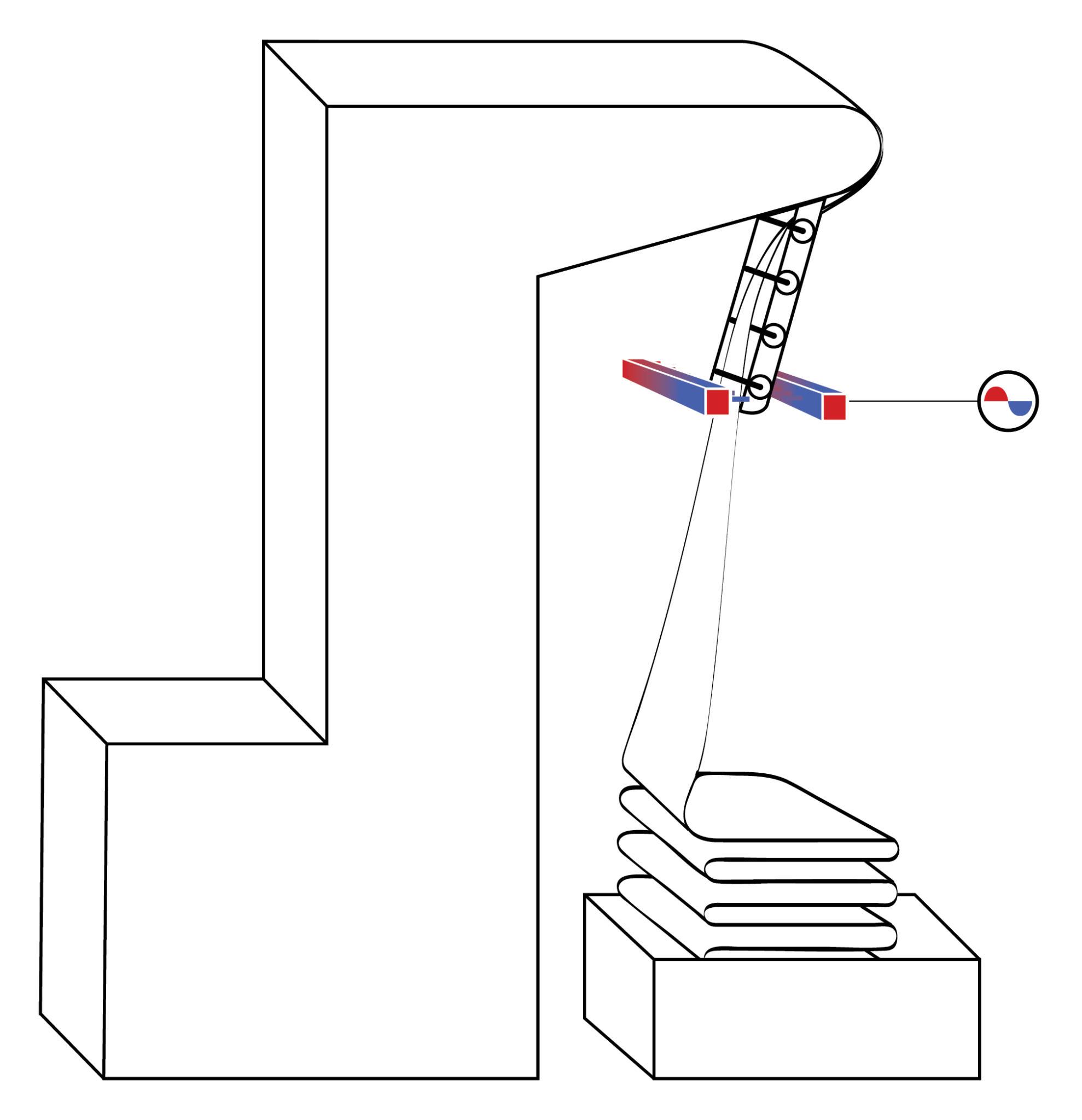 elettromeccanica bonato faldatrice - settore tessile