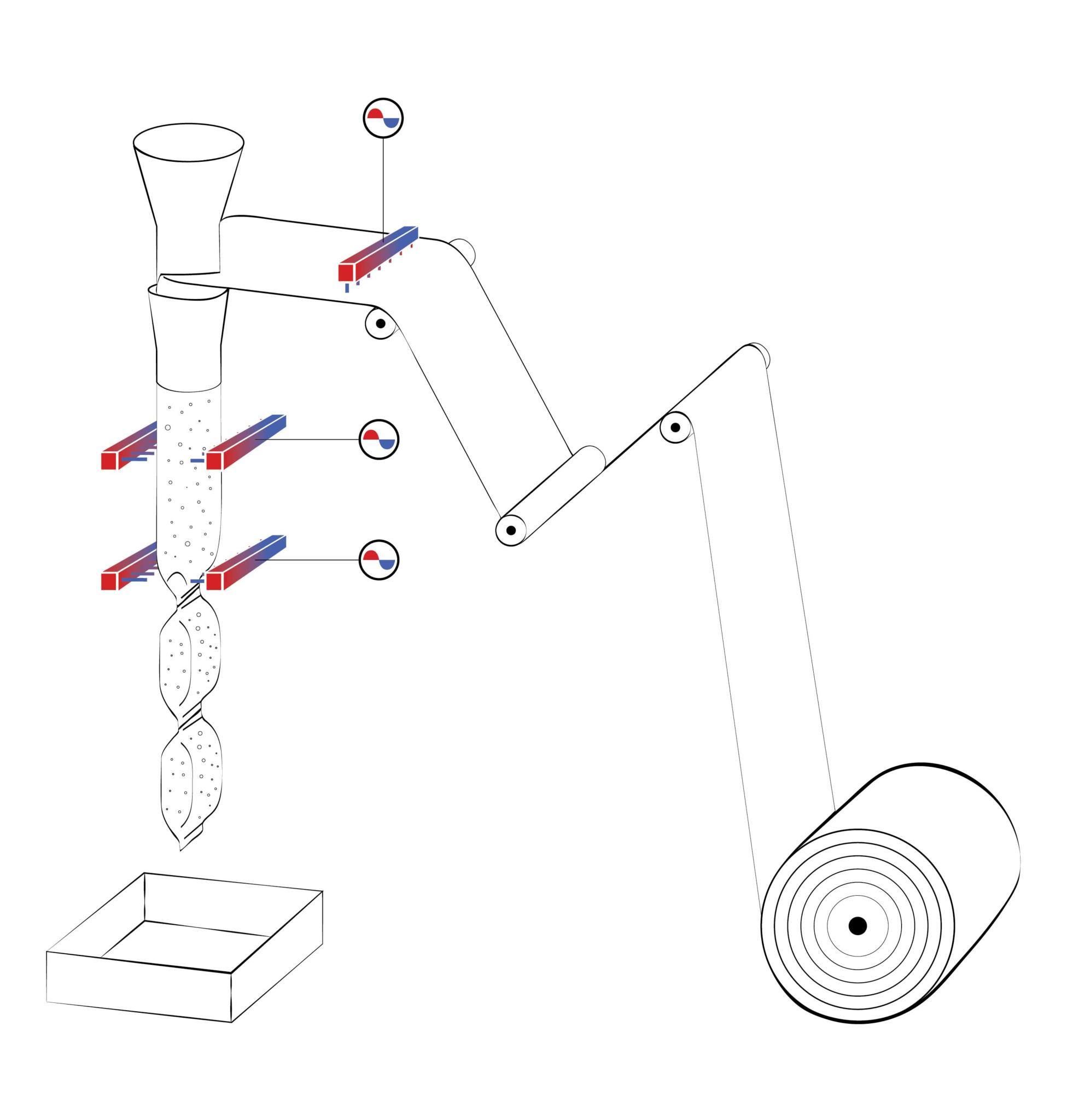 elettromeccanica bonato insacchettatrice verticale - packaging